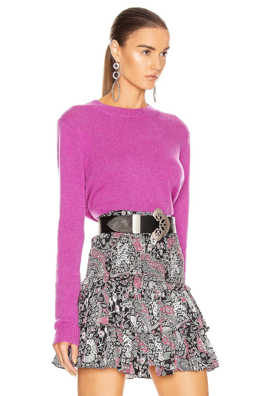 Image 2 of Isabel Marant Cyllia Sweater in Fuchsia