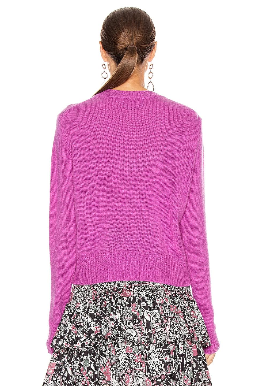 Image 3 of Isabel Marant Cyllia Sweater in Fuchsia