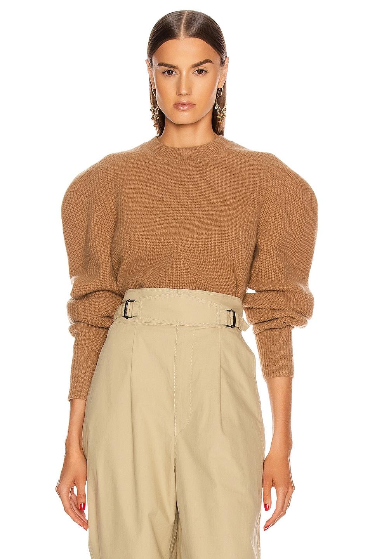 Image 1 of Isabel Marant Jullian Sweater in Camel