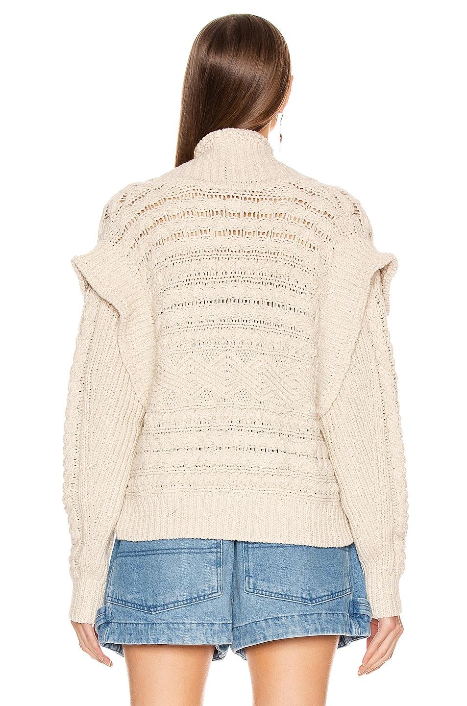 Image 4 of Isabel Marant Maena Sweater in Beige