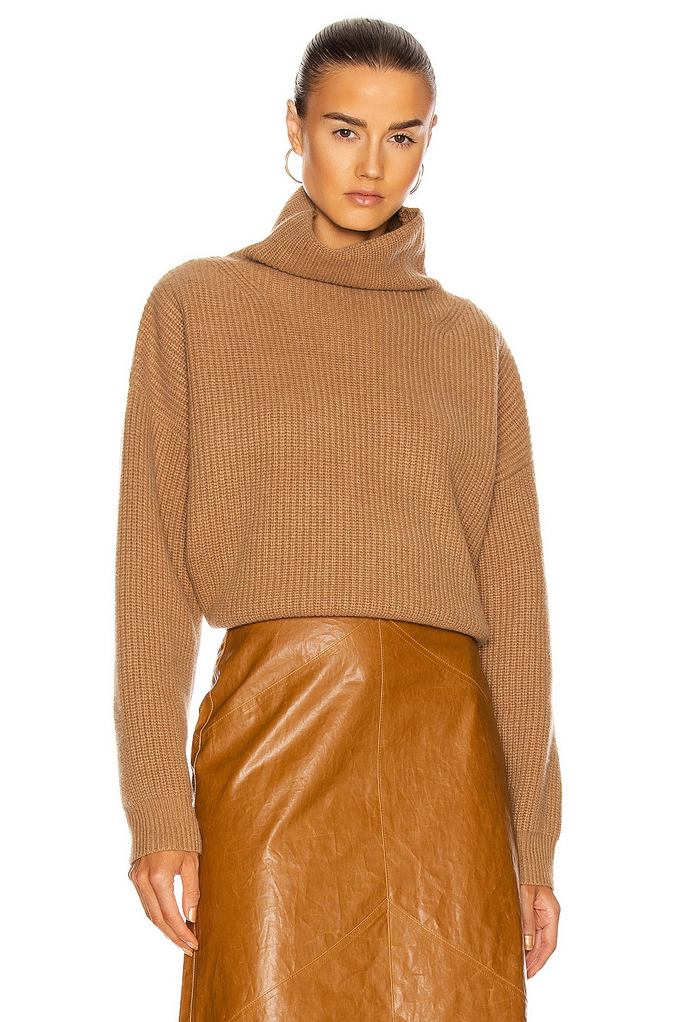 Image 1 of Isabel Marant Brooke Cashmere Sweater in Camel
