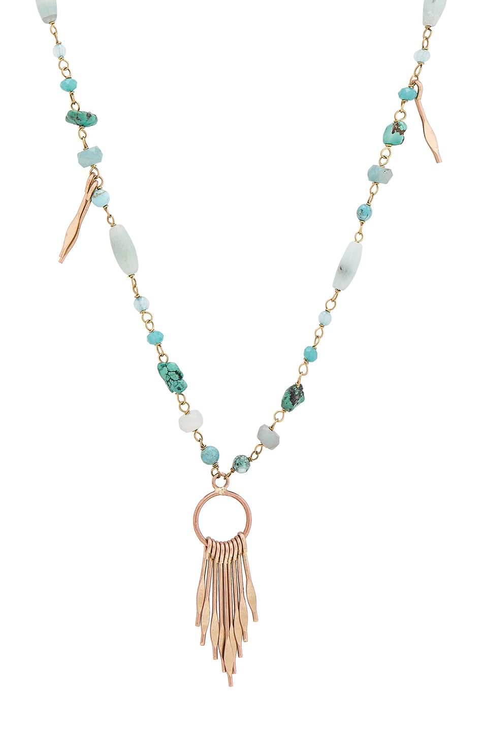 a3a066e11f Image 1 of Isabel Marant Jacques Necklace in Blue