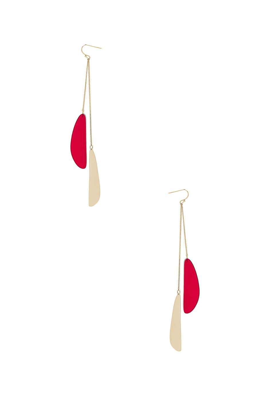 Image 2 of Isabel Marant Drop Earrings in Red
