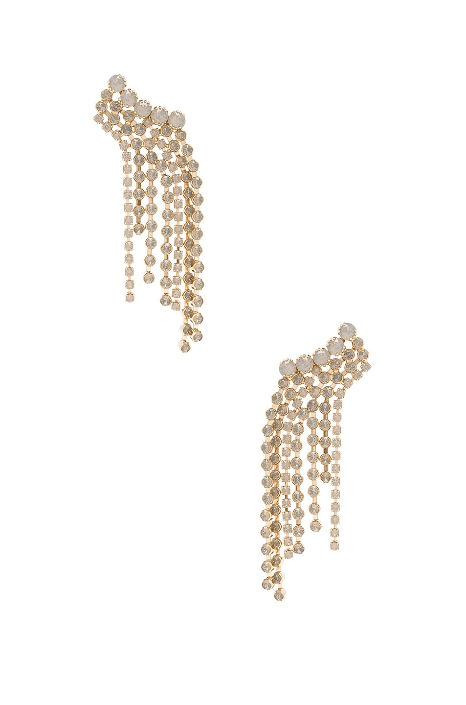 Image 1 of Isabel Marant A Wild Shore Earrings in Beige