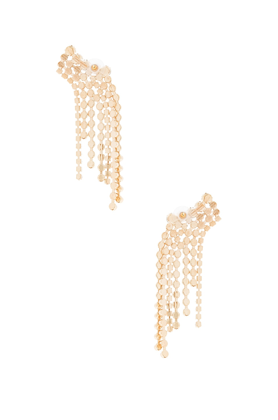 Image 3 of Isabel Marant A Wild Shore Earrings in Beige