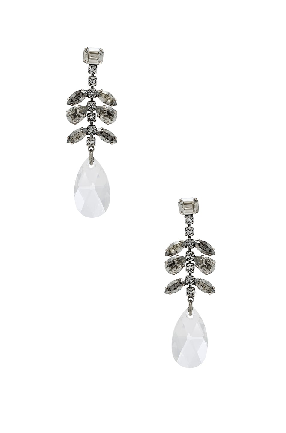 Image 1 of Isabel Marant Peace Earrings in Transparent