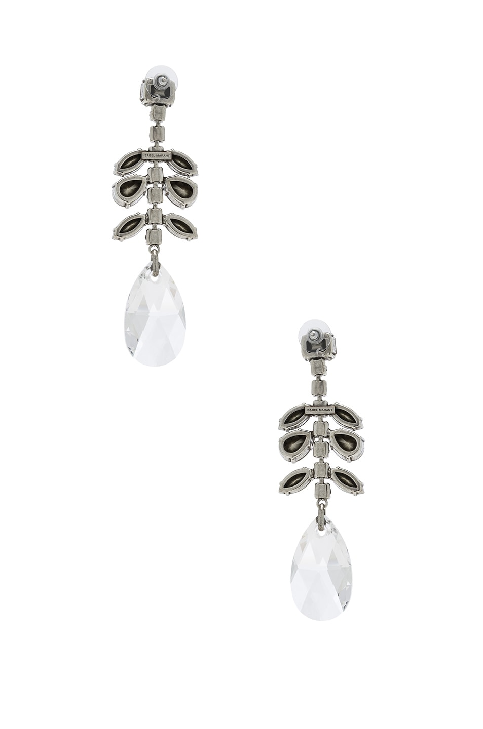 Image 3 of Isabel Marant Peace Earrings in Transparent