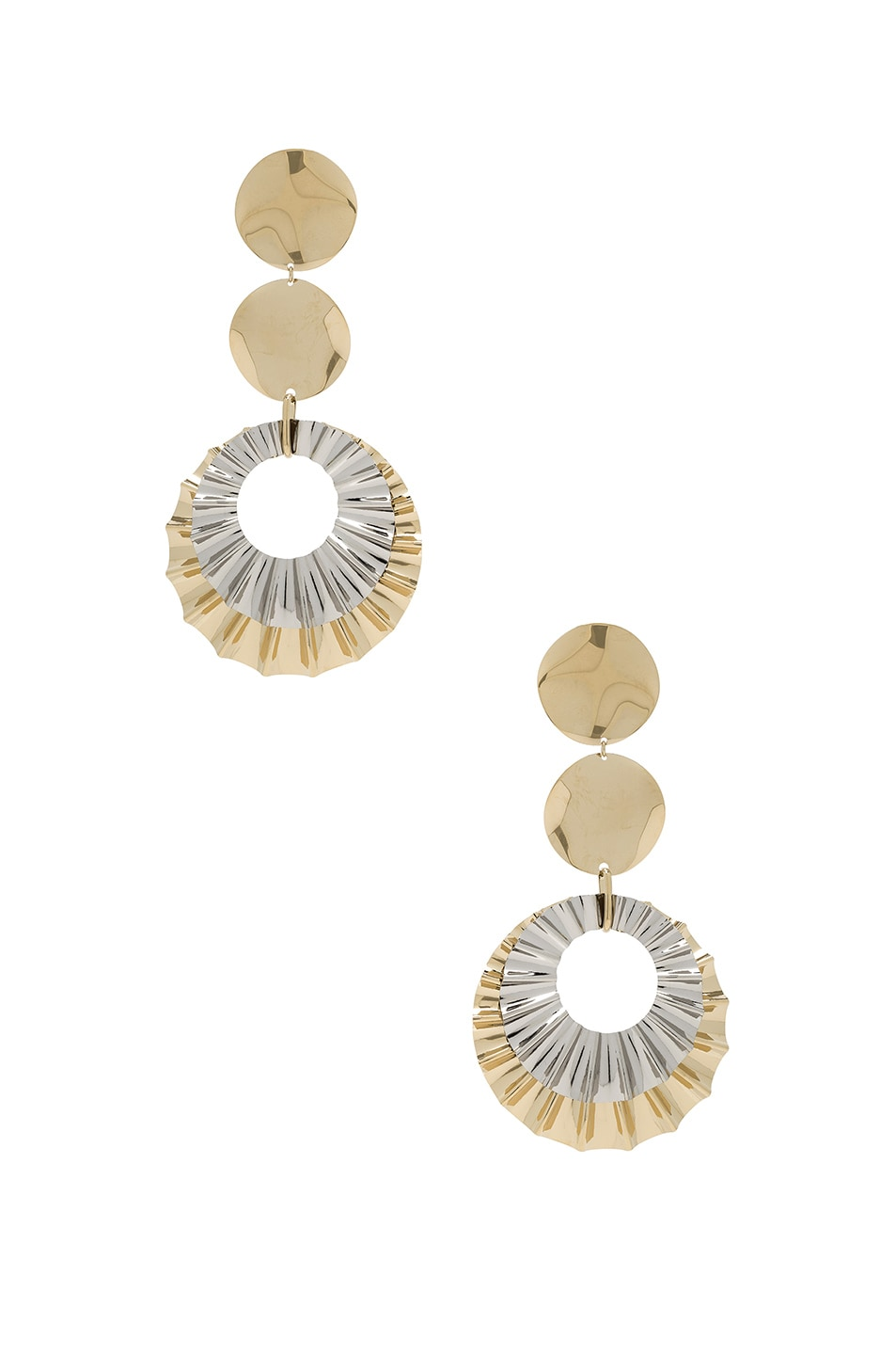 Image 1 of Isabel Marant Big Hurt Earrings in Dore