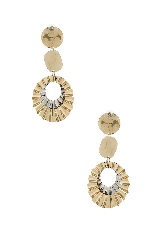 Image 3 of Isabel Marant Big Hurt Earrings in Dore