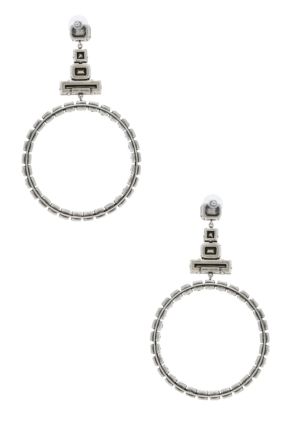 Image 3 of Isabel Marant Bimbo Earrings in Transparent