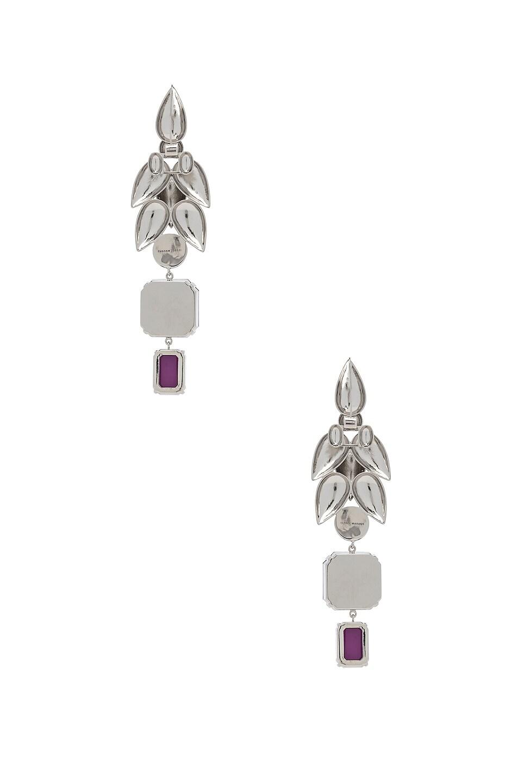 Image 4 of Isabel Marant Pop Bunch Earrings in Fuchsia