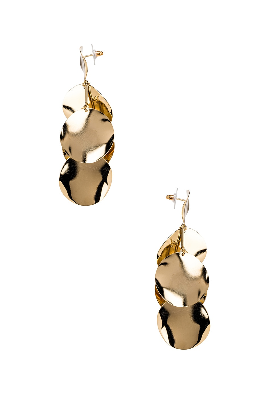 Image 2 of Isabel Marant Drop Earrings in Dore
