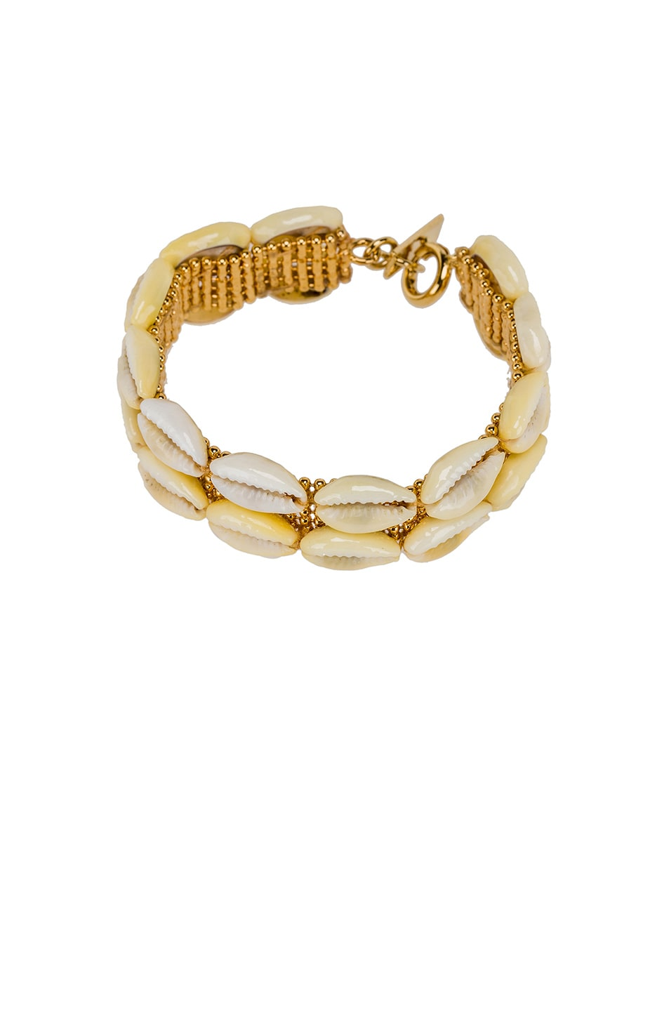 Image 1 of Isabel Marant Shell Bracelet in Dore