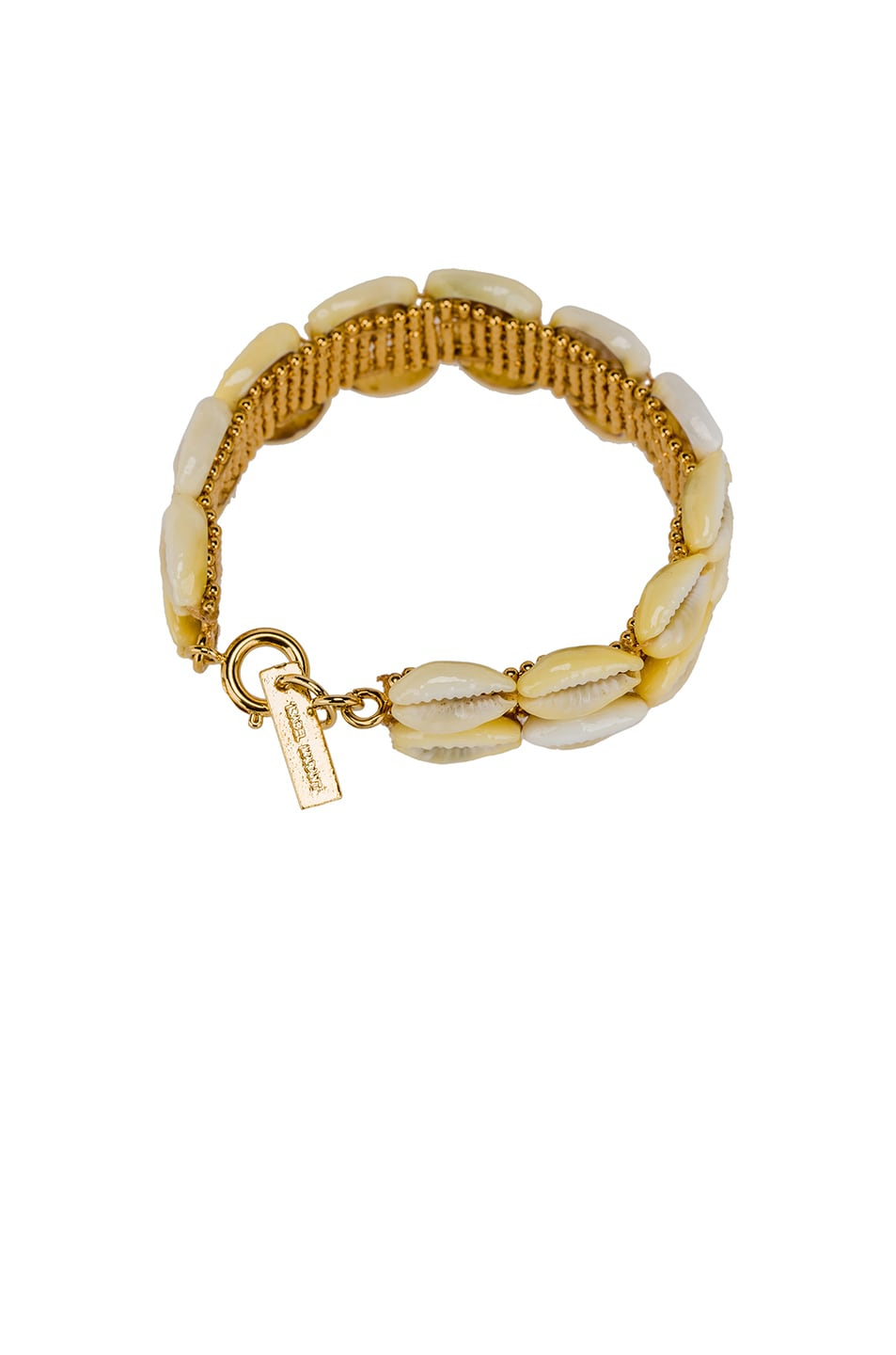Image 2 of Isabel Marant Shell Bracelet in Dore