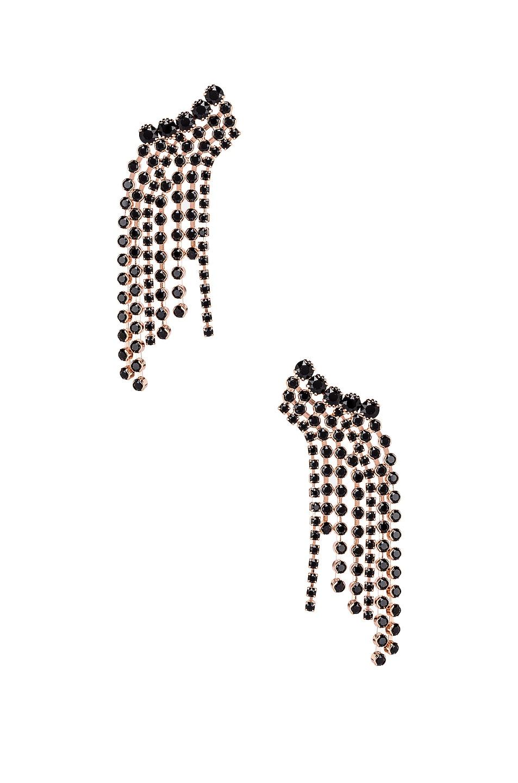 Image 1 of Isabel Marant Fringe Earrings in Black