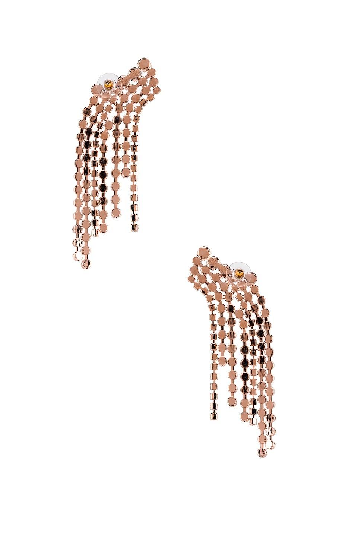 Image 4 of Isabel Marant Fringe Earrings in Black