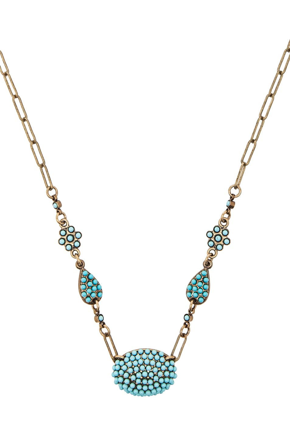 Image 1 of Isabel Marant Nitto Necklace in Blue