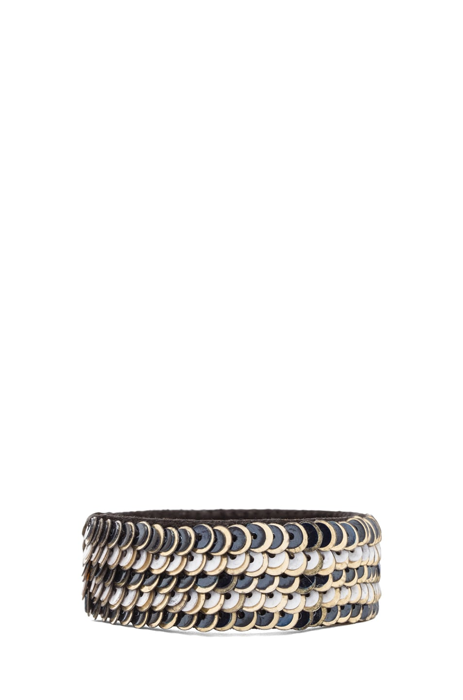 Image 2 of Isabel Marant Be Groovy Bracelet in Grey
