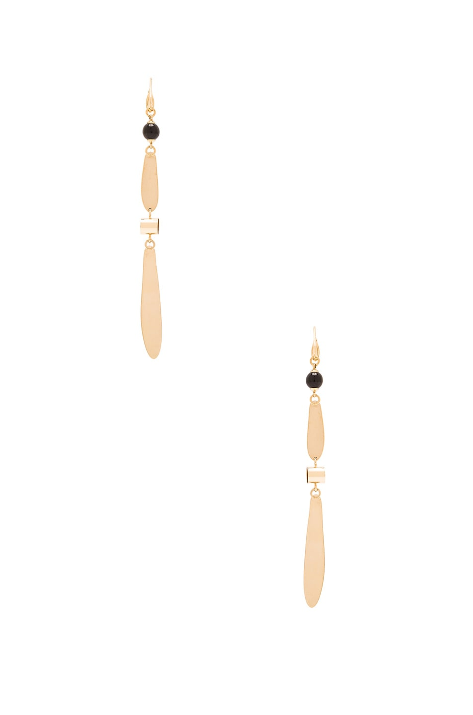 Image 3 of Isabel Marant Colorado Earrings in Gold & Pink