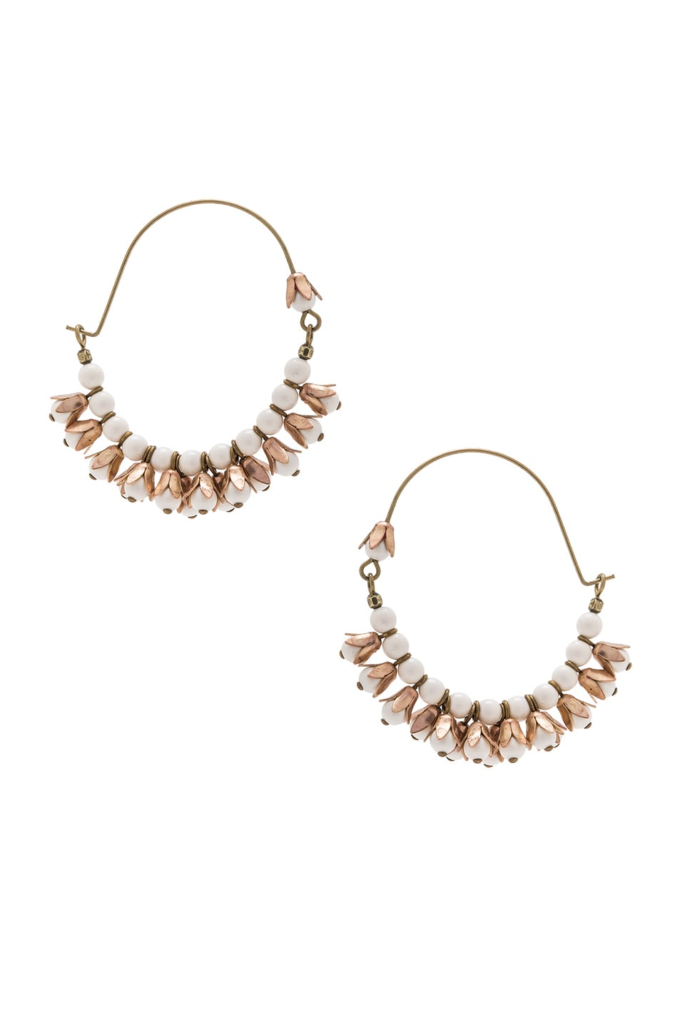 Image 1 of Isabel Marant Fes Earrings in Ecru