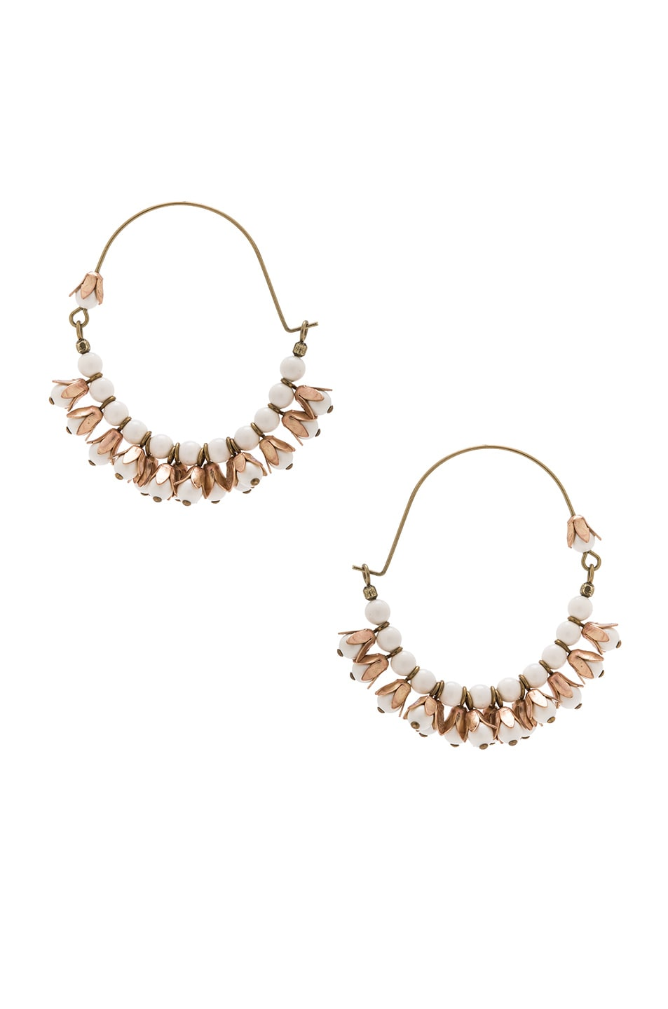 Image 3 of Isabel Marant Fes Earrings in Ecru