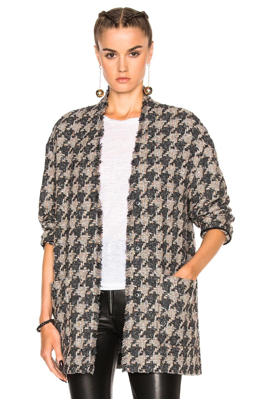 Image 1 of Isabel Marant Jameson Tweed Jacket in Grey