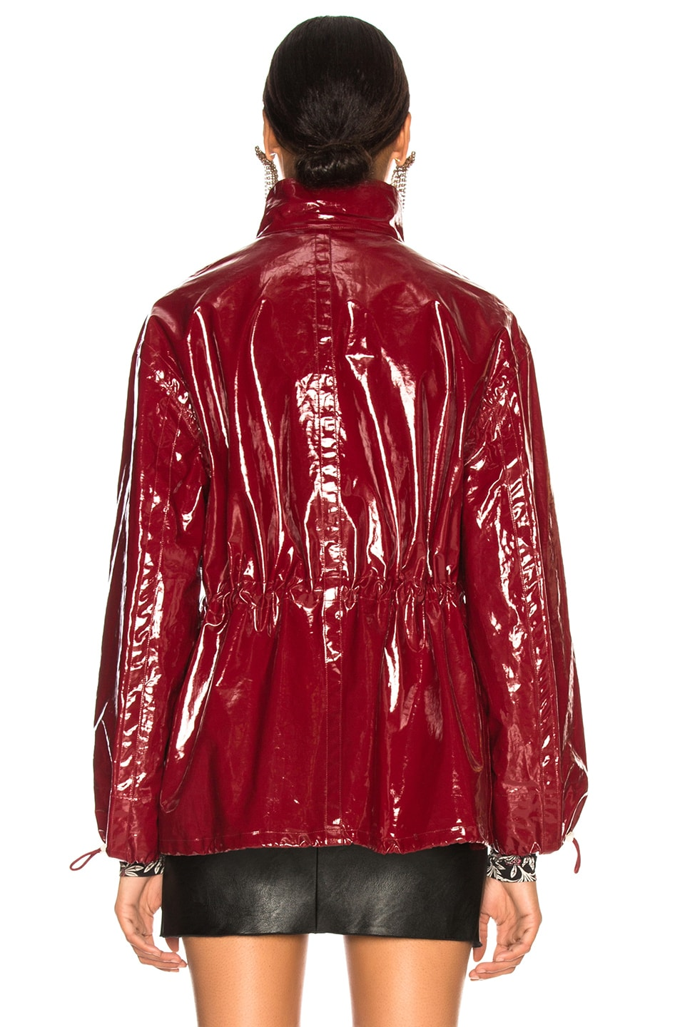 Image 5 of Isabel Marant Enzo Jacket in Burgundy