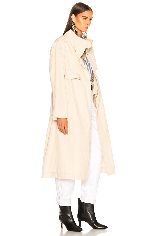 Image 4 of Isabel Marant Jaci Trench Coat in Ecru