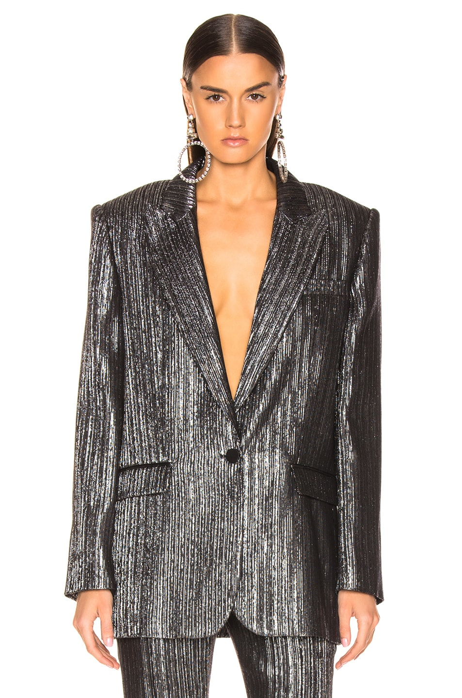 Image 1 of Isabel Marant Datja Jacket in Silver