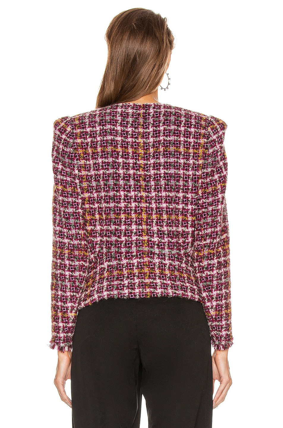 Image 5 of Isabel Marant Zoa Jacket in Fuchsia