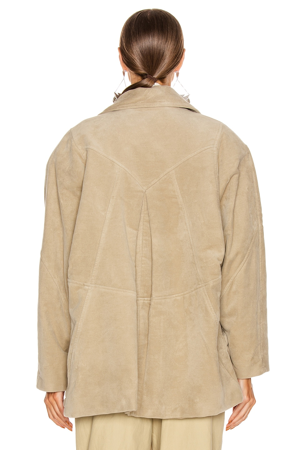 Image 4 of Isabel Marant Doreal Coat in Mastic