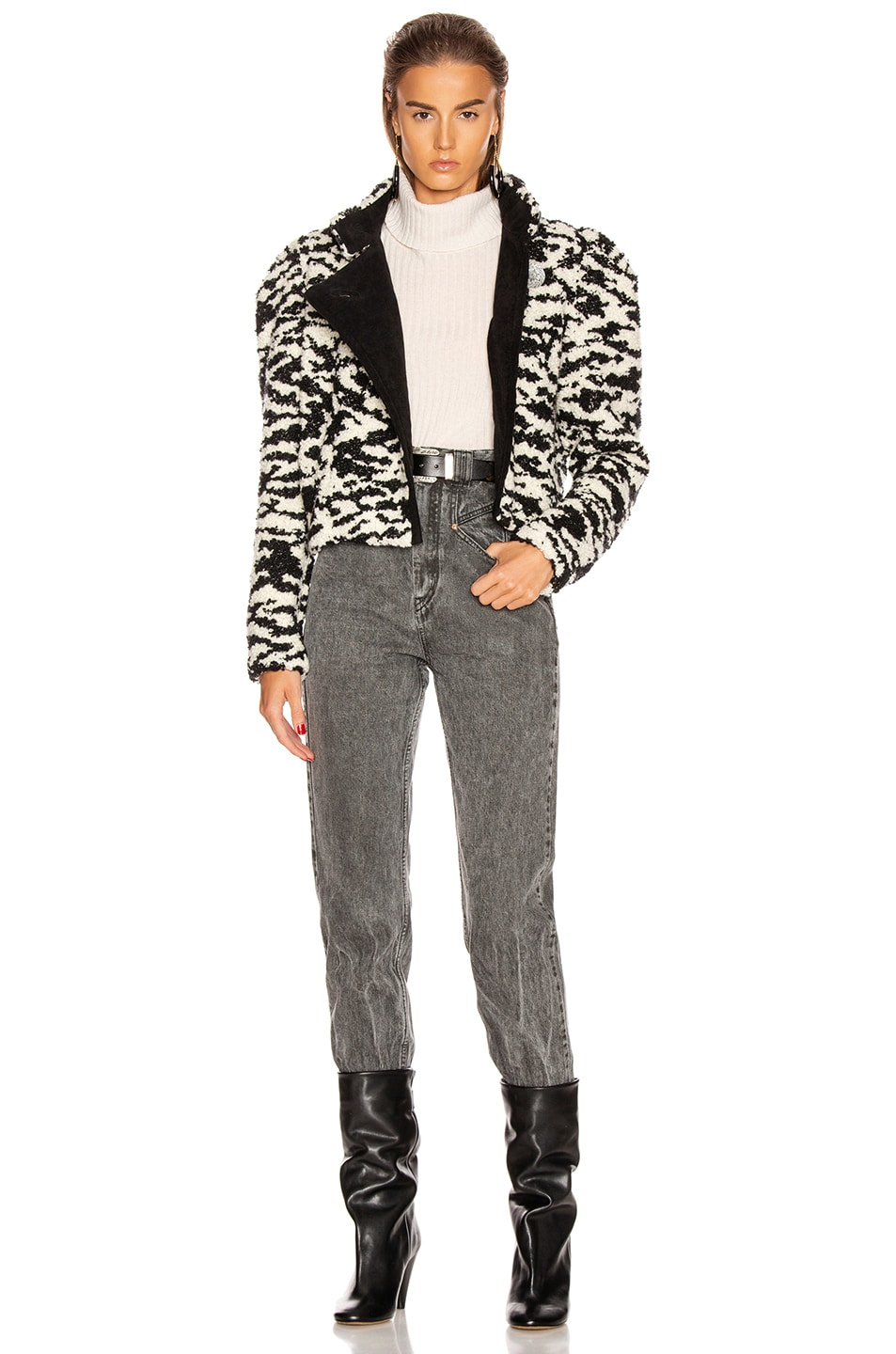 Image 5 of Isabel Marant Daphne Jacket in Ecru