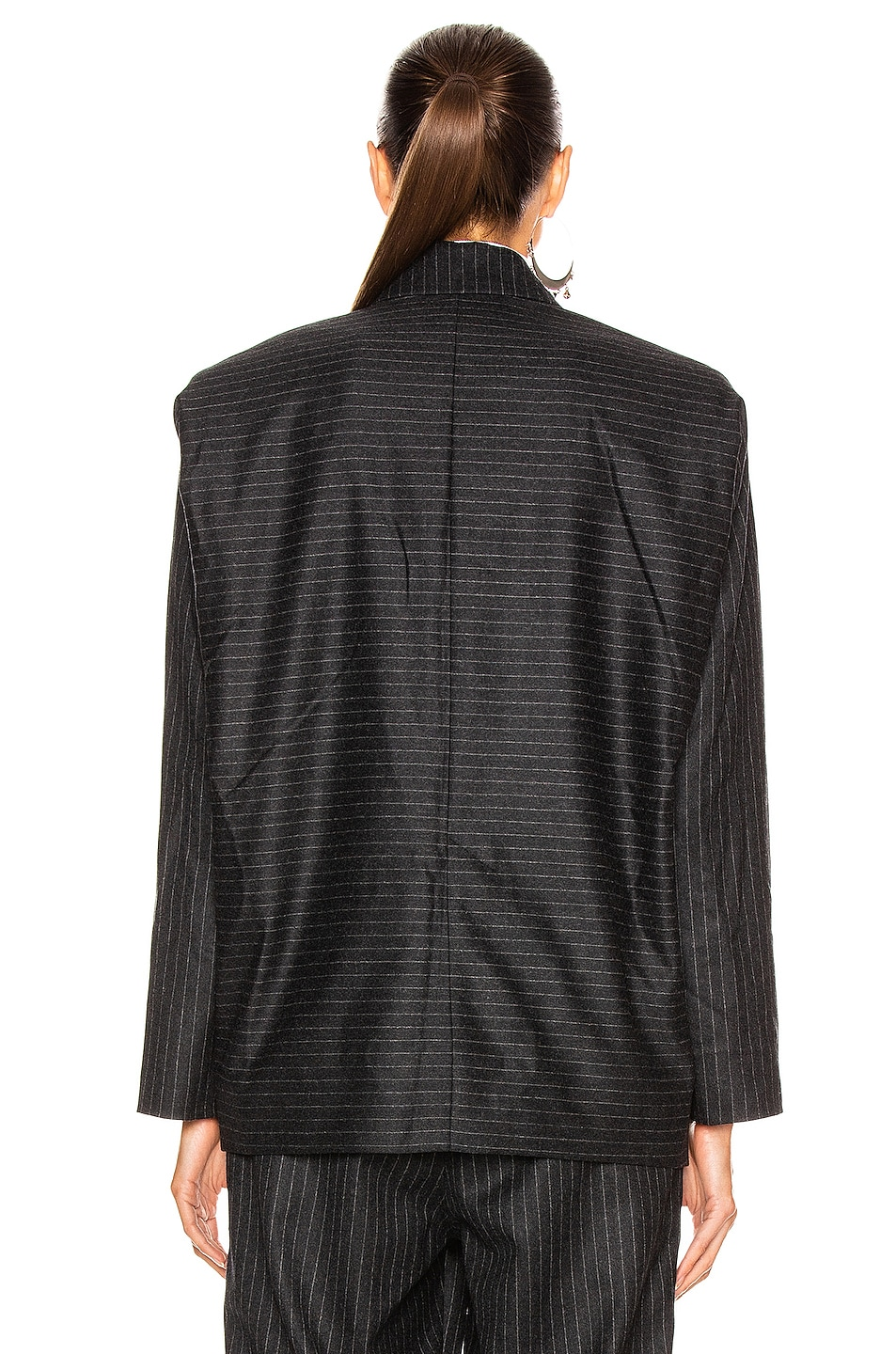 Image 5 of Isabel Marant Melinda Jacket in Anthracite