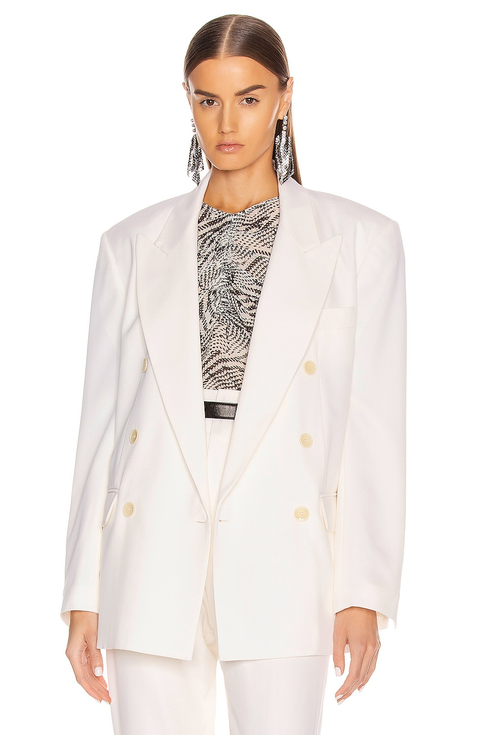 Image 1 of Isabel Marant Apsara Jacket in Ecru