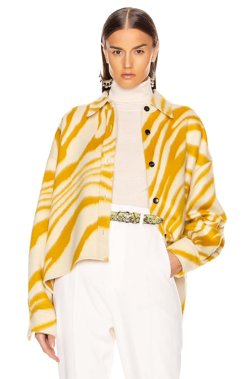 Image 1 of Isabel Marant Hanao Shirt in Yellow