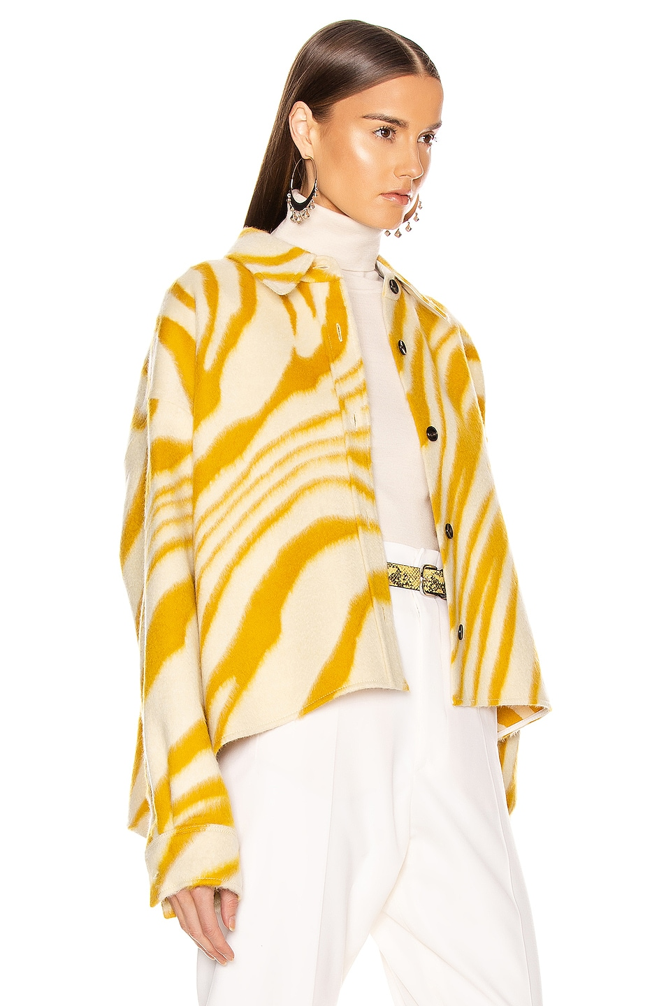 Image 4 of Isabel Marant Hanao Shirt in Yellow