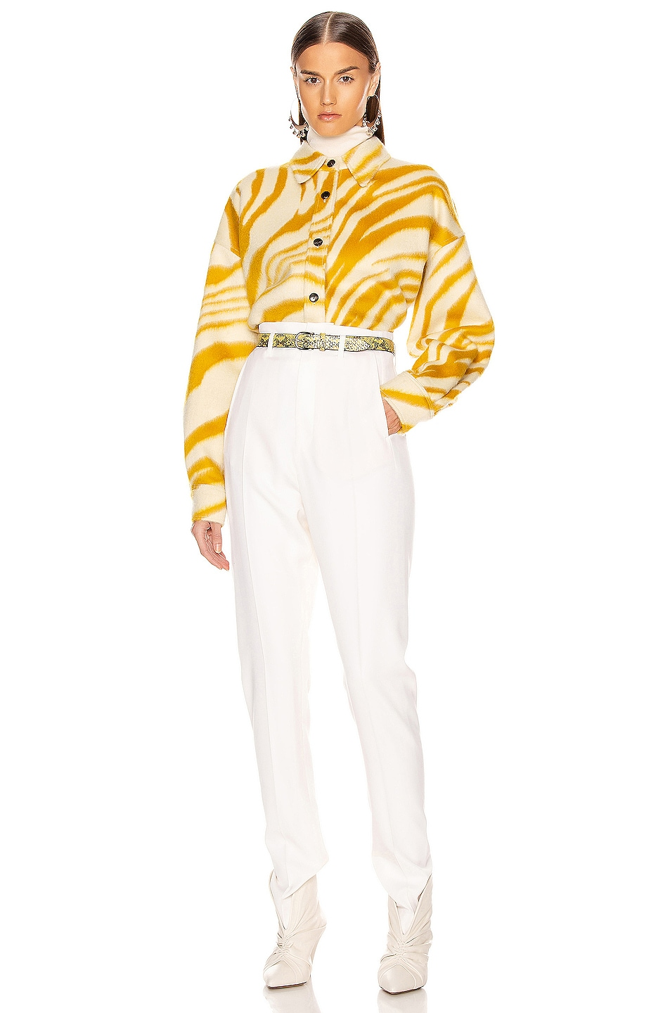 Image 6 of Isabel Marant Hanao Shirt in Yellow