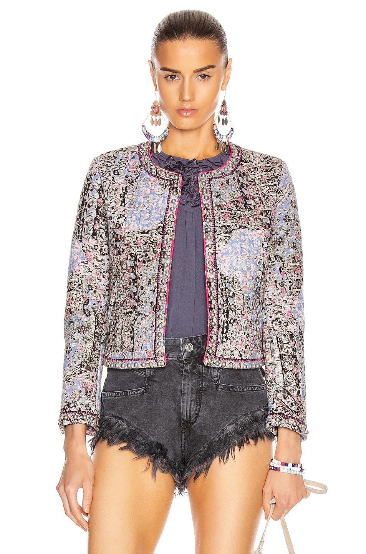 Image 1 of Isabel Marant Fansoni Jacket in Blue