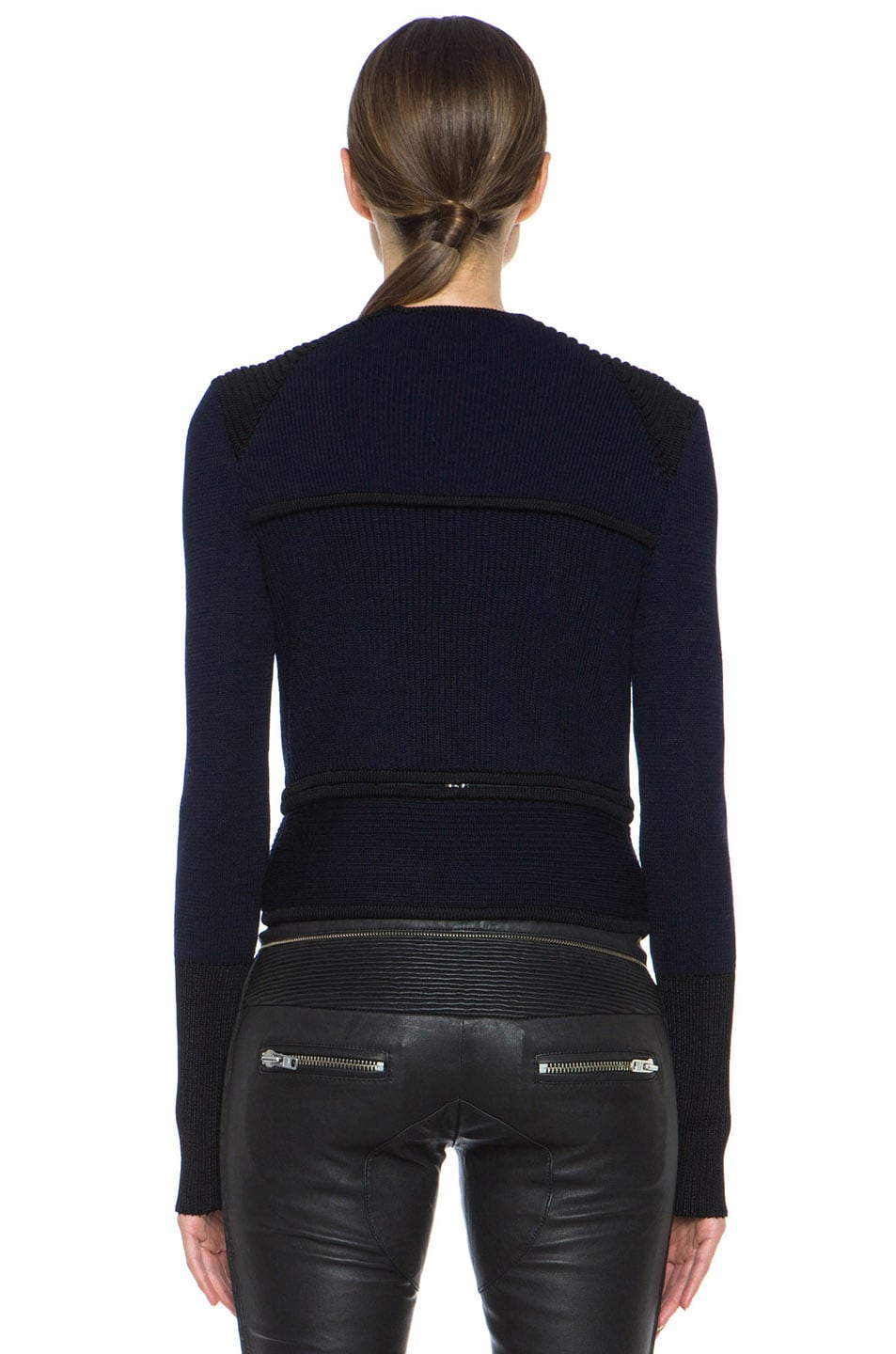 Image 5 of Isabel Marant Bazin Wool-Blend Jacket in Midnight