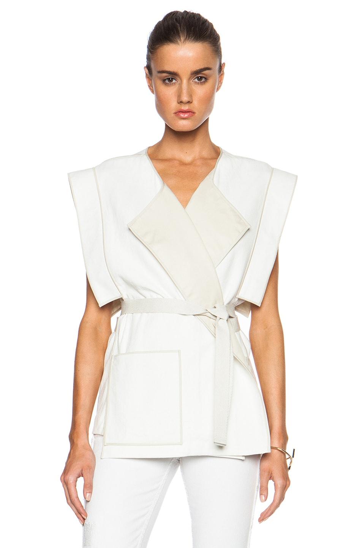 Image 1 of Isabel Marant Laddie Summer Tubique Vest in Chalk