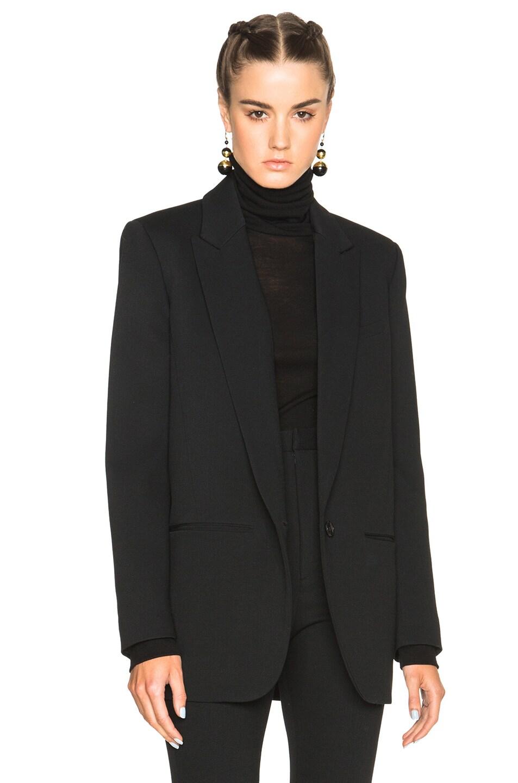 Image 1 of Isabel Marant Madoc Costard Jacket in Black 4f6ed630e01