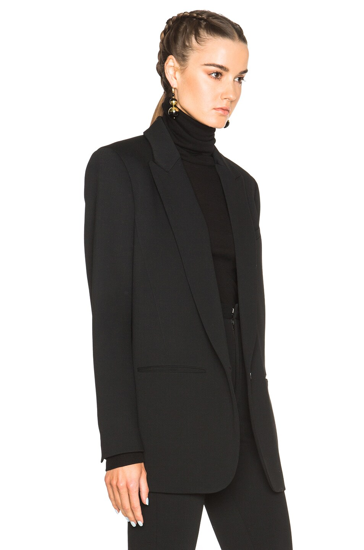 Image 4 of Isabel Marant Madoc Costard Jacket in Black 6c077ddafae