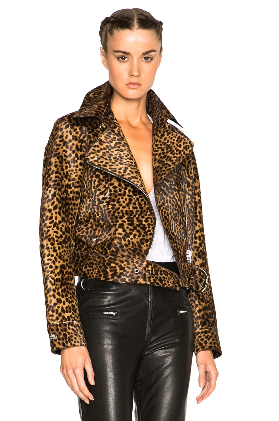 Image 1 of Isabel Marant Eston Wild Pony Coat in Fauve