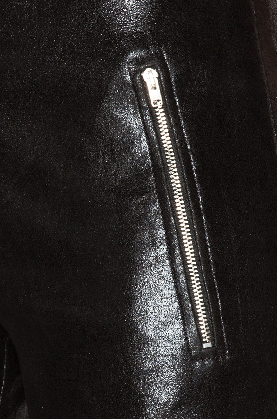 Image 5 of Isabel Marant Arnold Stretch Leather Pants in Black