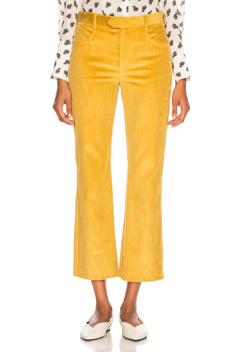 Image 1 of Isabel Marant Mereo Pant in Saffron