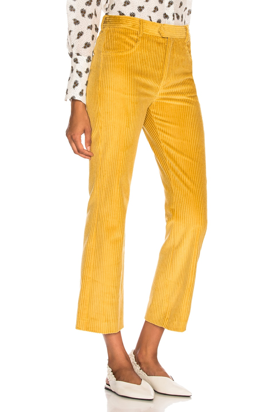 Image 2 of Isabel Marant Mereo Pant in Saffron
