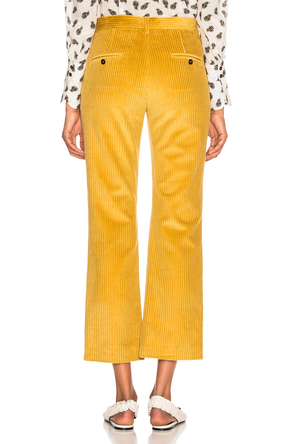 Image 3 of Isabel Marant Mereo Pant in Saffron