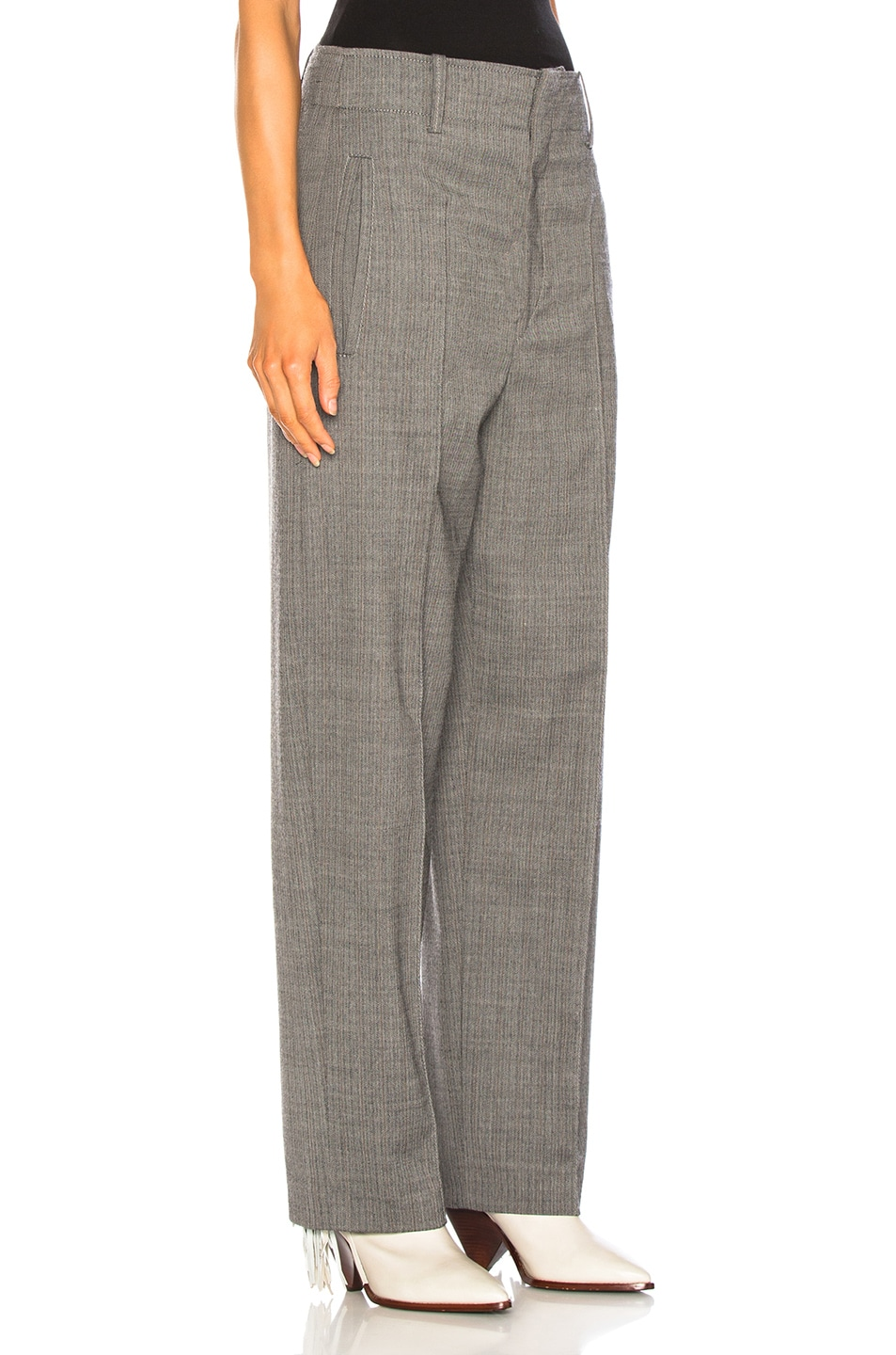 Image 2 of Isabel Marant Hami Pant in Grey