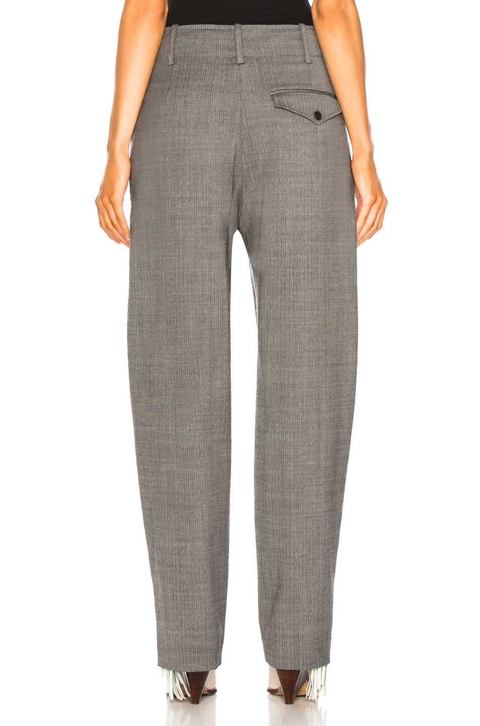 Image 3 of Isabel Marant Hami Pant in Grey