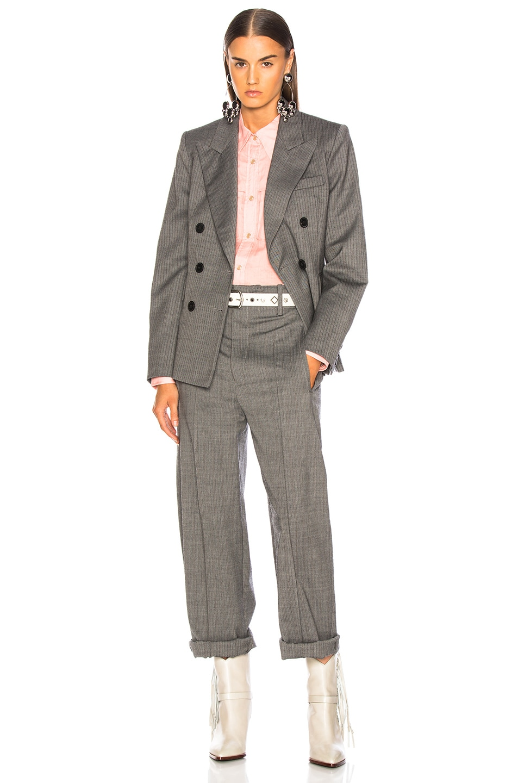 Image 4 of Isabel Marant Hami Pant in Grey